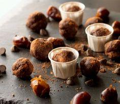 Chocolate Chia Brownie BItes