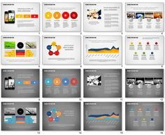 Elegant Business Presentation Template For Powerpoint
