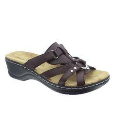 Loving this Brown Aleisha Sandal on #zulily! #zulilyfinds
