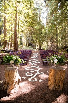Enchated wedding aisle runner inspiration. A twist to a traditional red runner. Lets walk on a magical path to a new beginning.