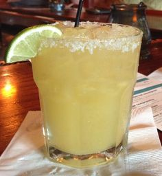 Premium margarita at Delphina Dos. One of my fav downtown Wilmington drinks.