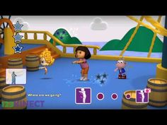 Nickelodeon Dance 2 - The Travel Song Kinect Gameplay - YouTube