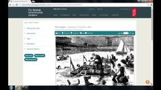 Find out how to save newspaper articles from The British Newspaper Archive to your computer.