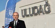 Bursa Büyükşehir Belediyesi, Uludağ Üniversitesi'nin Görükle Kampüsü'ne yaptırdığı giriş kapısını (tak), törenle hizmete açtı