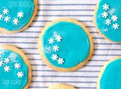 Sugar cookies e ghiaccia reale, ovvero il perfetto biscotto decorato