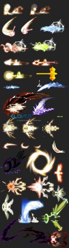 Game art resource skills luminous efficiency even frame material value multi-class ...