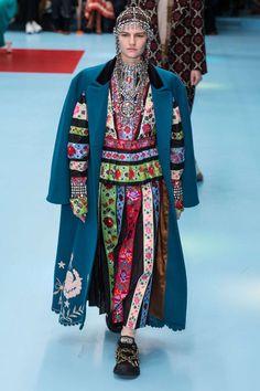 Gucci, Fall-Winter 2018, Milan, Womenswear