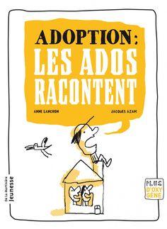 Adoption : les ados racontent / Anne Lanchon (5) --  http://biblio.ville.saint-eustache.qc.ca/search~S2*frc/?searchtype=X&searcharg=adoption+ados+racontent&searchscope=2&sortdropdown=-&SORT=DZ&extended=1&SUBMIT=Chercher&searchlimits=&searchorigarg=Xadoption+ados+racontent%26SORT%3DDZ