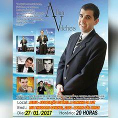 AELUZ - Palestra Musical com Allan Vilches em São José do Rio Preto - SP - http://www.agendaespiritabrasil.com.br/2017/01/26/aeluz-palestra-musical-com-allan-vilches-em-sao-jose-do-rio-preto-sp/