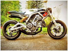 Ducati Cafe Racer #motorcycles #caferacer #motos | caferacerpasion.com