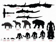 Image result for shadow of the colossus chart
