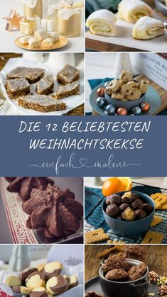 Are you looking for great recipes for baking at Christmas time? Here you will find the most popular & most clicked recipes of the last 4 years: Marzipan Pillows, Nougat Tuffs, Dream Pieces, Cinnamon Roll Cookies and Nougat Tuffs are also included. Christmas Brunch, Christmas Breakfast, Christmas Time, Christmas Cooking, Marzipan, Popular Recipes, Great Recipes, My Favorite Food, Favorite Recipes