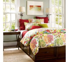 Pottery barn woodland floral