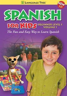 Spanish For Kids Beginner Level 1, Vol. 1