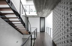 Built by AHL architects associates in Tứ Liên, Vietnam with date 2013. Images by Hung Dao. 7x18 house is located in densely populated and chaotic area of Hanoi. Tu Lien village is famous because of fields wit...