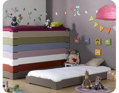 Stacking Bed -Taupe