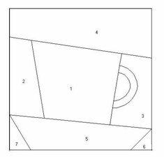 Блоки для печворк — Яндекс.Диск Paper Piecing Patterns, Quilt Patterns, Foundation Paper Piecing, Mug Rugs, Views Album, Patches, Yandex, Quilts, Mugs