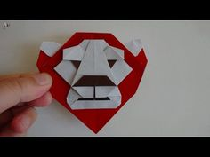 origami【Lion King】 - YouTube