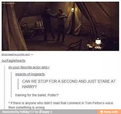 I did. Malfoy naturally insults Harry with his last name, and so does my inner voice