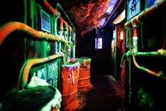 Haunted House Decorations, Haunted House Props, Halloween Haunted Houses, Diy Halloween Decorations, Halloween House, Halloween Projects, Halloween And More, Halloween 2014, Halloween Spider