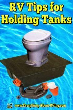 RV Tips for Holding Tanks
