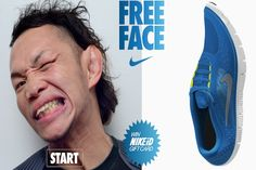 Nike contest tests if entrants' faces are more flexible than their shoes