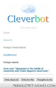 Harry Potter Duel With Cleverbot