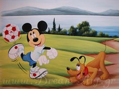 Ο Mickey Mouse Ολυμπιακός