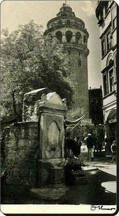 Galata kulesi - 1930