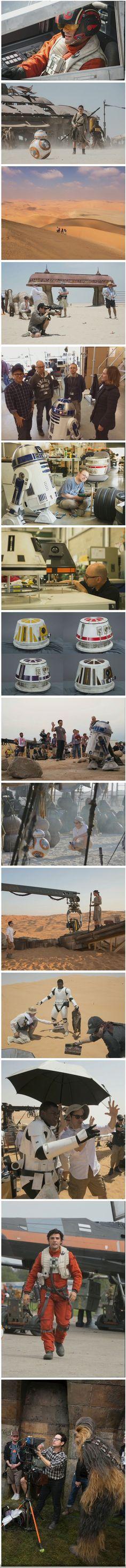 Star Wars VII : des photos exclusives du tournage