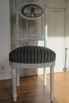 chaise de coiffeuse cann e style louis xvi poque 1900 fauteuil pinterest louis xvi. Black Bedroom Furniture Sets. Home Design Ideas