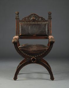 Chpt 7: RENAISSANCE REVIVAL CHAIR