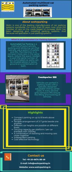 Wohr is one of leading car parking system manufacturers in India. We offer automated, stack, multilevel, hydraulic car lift, and puzzle car parking system. Hydraulic Car Lift, Automatic Cars, Space Time, Smart City, Car Parking, Innovation, Automobile, India, Money