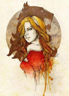 Queen Cersei  Hear Me Roar  elia, illustration