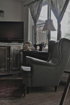 IKEA, STRANDMON  armchair.  wing chair