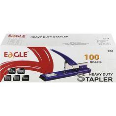 Nagyteljesítményű karos tűzőgép 2-100 lap - Eagle 938 Ft Ár 3,690 AddThisEmailPrintFacebookTwitter Staplers, The 100, Eagle