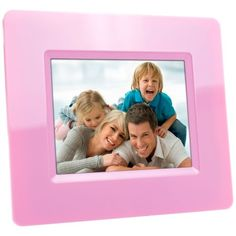 Optimus 3.5 Inch LCD Digital Picture Frame   Pink (82 16668)