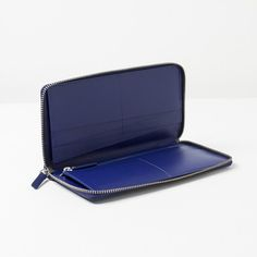 The Female Slim Zip Wallet - Royal Blue - Everlane