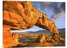 buy Feng Shui wall art photo Sunset Arch, Escalante National Monument, Utah at www.explosionluck.com