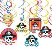 $3.99 Pirate Swirl Decorations - Party City