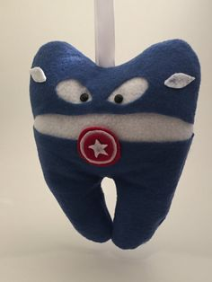 Hey, I found this really awesome Etsy listing at https://www.etsy.com/listing/293199945/captain-america-tooth-fairy-pillow