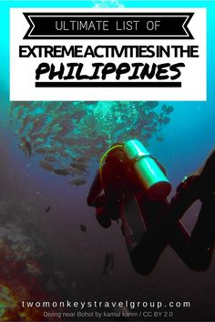 Ultimate List of Extreme Activities in the Philippines