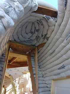 Earthbag Building: Dome Experiment with Large Window