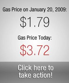 The LIBERAL media has been IGNORING this fact: In the 3.5 years since Barack Obama was sworn in as President, gas prices have more than DOUBLED.