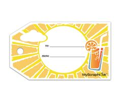Download this Hot Summer Gift Tag and other free printables from MyScrapNook.com