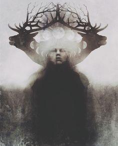 "Photographer & Artist: Darby Lahger ""The Awakening"" http://instagram.com/old_hag"