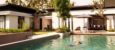 Enjoy living space at its finest, subtly infused with the essence of the tropics. #Alila #villa #Soori #bali #pool #retreat