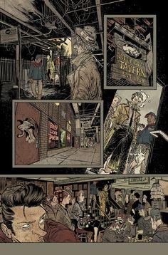 Rafael Grampá - VERTIGO / Hellblazer #250 - pg 02