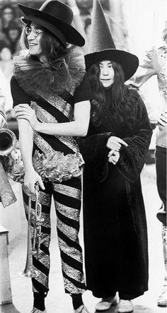 John Lennon and Yoko Ono (1968)