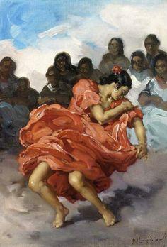 About Art - Talent works, genius creates... : Francisco Rodriguez San Clement (Spanish artist, 1861 - 1956)